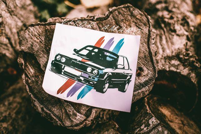 Autocolante para Carro BMW E30|NOVO