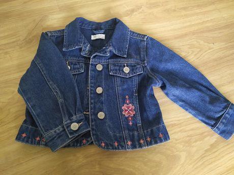 Katana jeansowa dla dziewczynki rozmiar 98