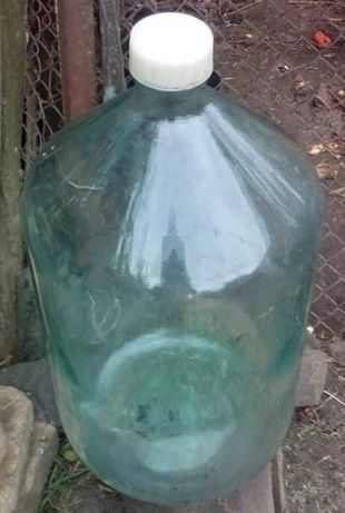 Бутыль стеклянный 20л