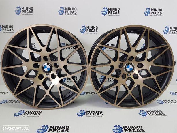 "Jantes BMW (M4) GTS em 18"" Black/Bronze"