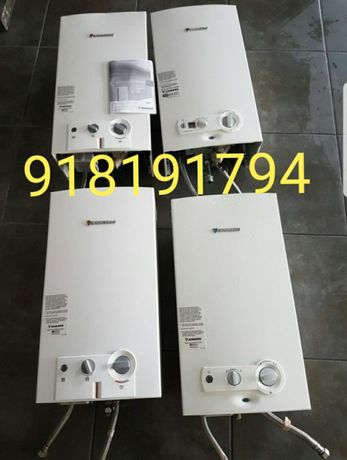 Esquentadores inteligentes e ventilados com garantia 11L ,14, sensor..