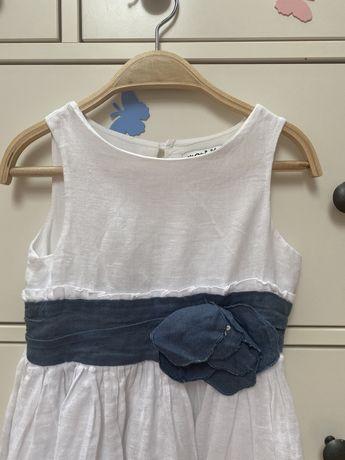 Sukienka lniana na lato 116