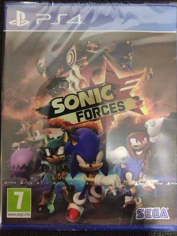 Sonic Forces ps4 dá pra ps5 NOVO SELADO playstation 4 troca retoma