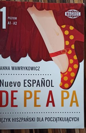 Podręcznik do nauki języka Hiszpańskiego DE PE A PA