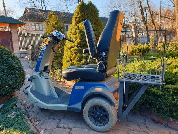 Электроскутер для пожилых людей, пенсионеров, инвалидов (скутер)