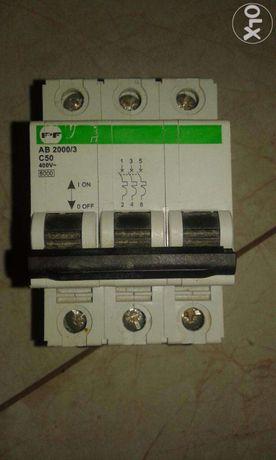 Продам автоматичний вимикач АВ2000/3-С50 3p 50A (Standart)