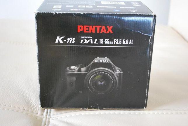 Aparat fotograficzny Pentax K-M nowy
