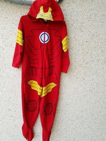 Домашний флисовый комбинезон,пижама