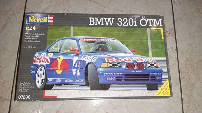 Сборная модель Revell BMW 320i E36 1/24