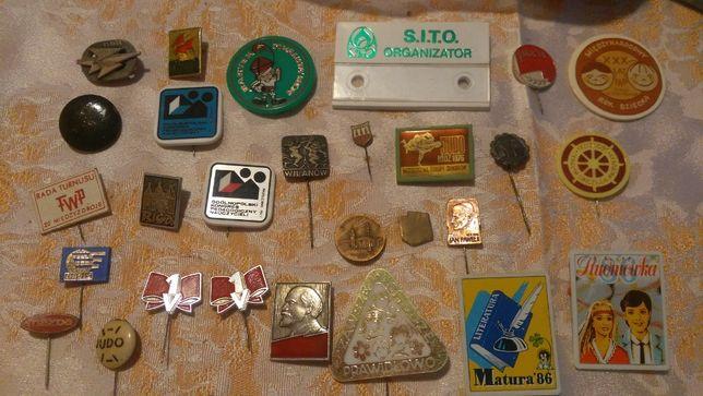 wpinki znaczki metalowe