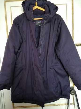Куртка парка пуховик большого размера