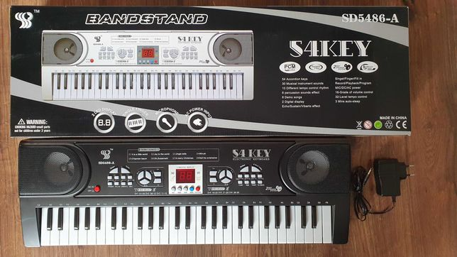 Organy elektryczne keyboard dla dzieci SD5486-A