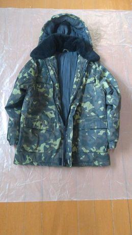 куртка мужская  камуфляжная теплая р.52-54