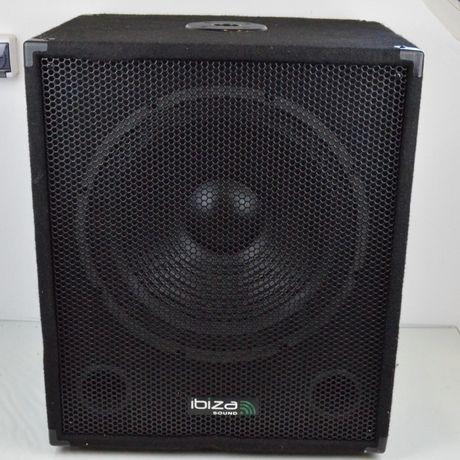 Subwoofer głośnik aktywny Ibiza SUB15A 800W + wzmacniacz