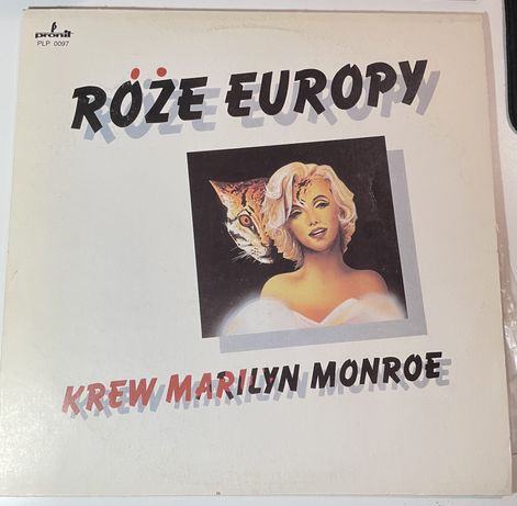 Róże Europy Krew Marilyn Monroe winyl pronil plp0097