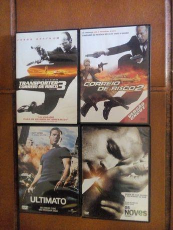 Dvds para todos os gostos-16 unidades
