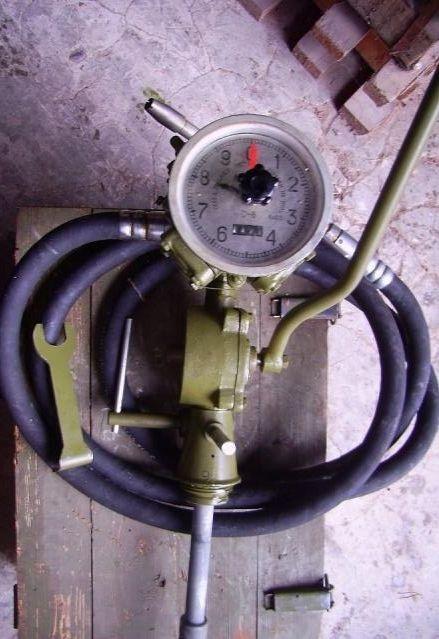 Колонка для палива з лічильником