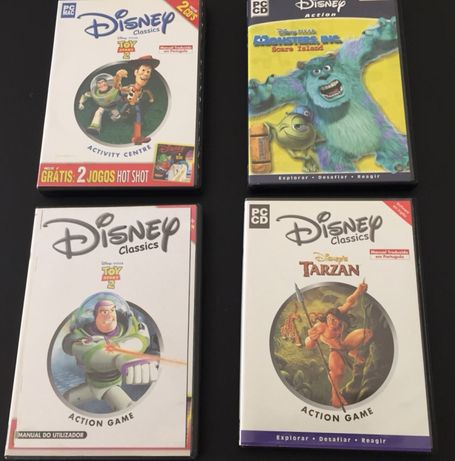 4 CD rom da Disney