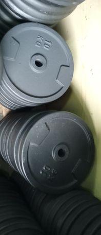 Obciążenie żeliwne nowe fi 31 2x10kg