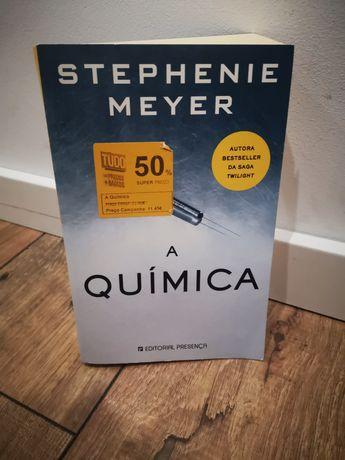 Livro A Química de Stephenie Meyers
