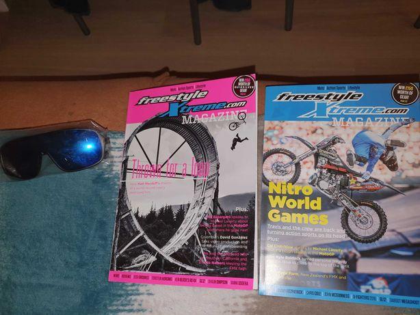 Gazeta motocyklowa okluray przeciw słoneczne