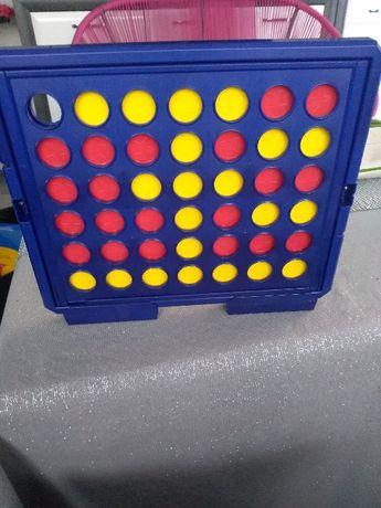 gra logiczna strategiczna czwórki 4 w rzędzie f.playtive junior 3+