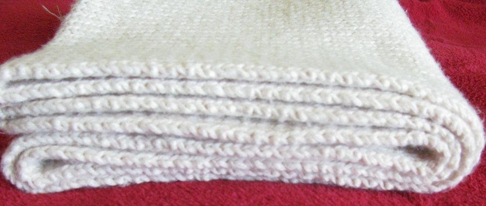 Шарф цвета слоновая кость 18х170 см Мариуполь - изображение 1