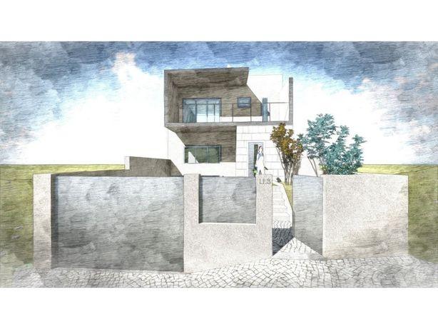 Terreno com projeto de arquitetura aprovado para construç...