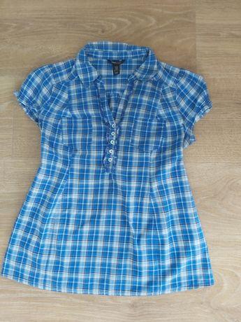 Bluzka ciążowa H&M koszula w kratę rozm. M