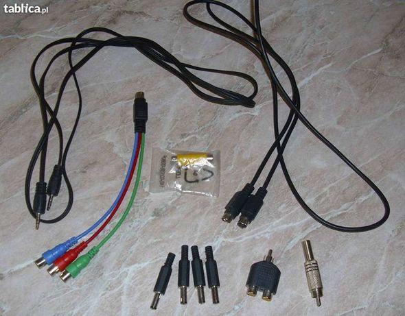 Zestaw kabli i wtyczek audio/video