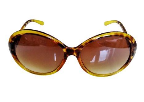 Okulary przeciwsłoneczne w panterkę Neve damskie duża oprawa