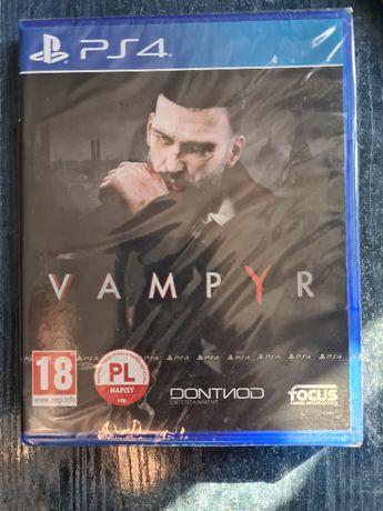 Vampyr ps4 nowa folia