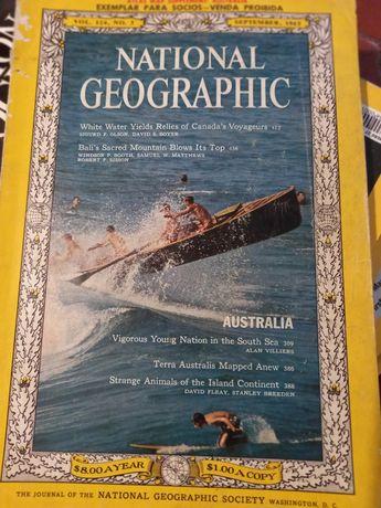 Revista da National Geographic sept. 1963