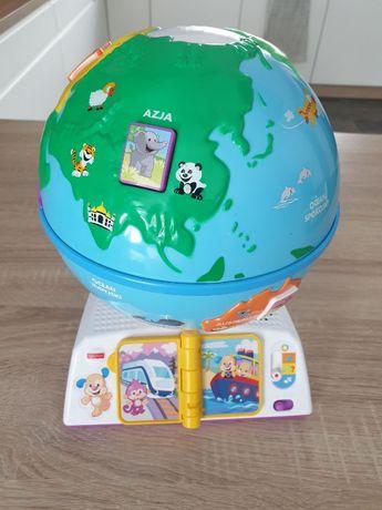Fisher Price Edukacyjny Globus Odkrywcy