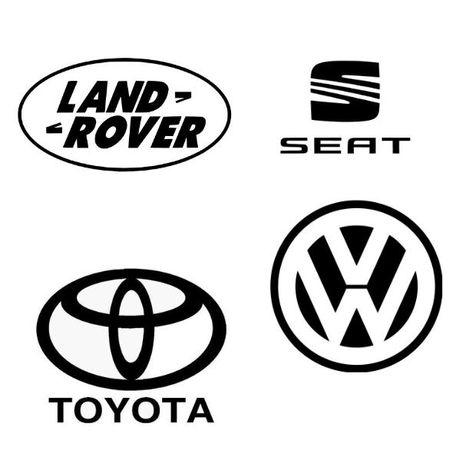 Autocolantes vinil Land Rover - Seat - Toyota - VW