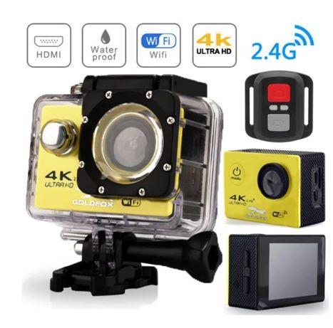 Єкшн камера Goldfox 4K, WiFi