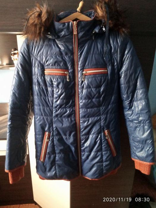 Продам зимнюю теплую курточку Изюм - изображение 1