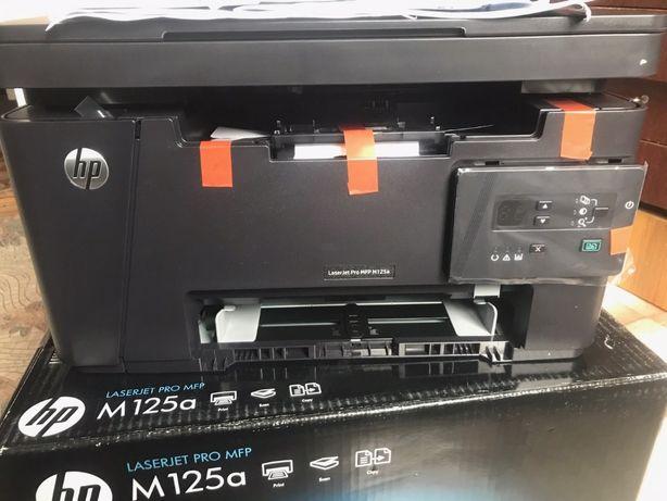 Принтер рабочая лошадка HP LaserJet M125a new