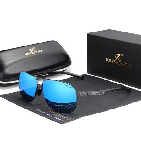 Niebieskie okulary przeciwsłoneczne polaryzacja UV400!