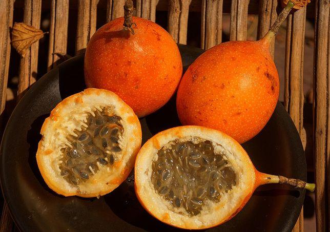 10 sementes de Granadilla - Passiflora ligularis