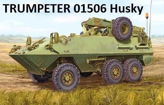 Trumpeter 01506 Canadian Husky 6x6 AVGP - model do sklejenia
