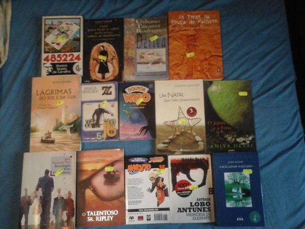 Livros VENDIDOS EM SEPARADO Lote 5 Livros Variados - Entrega IMEDIATA