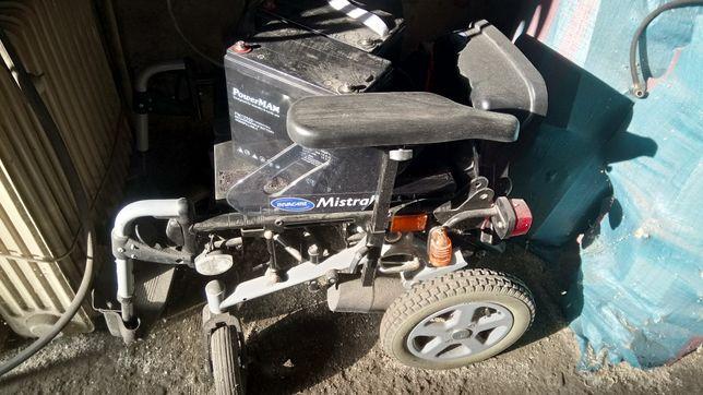 Wózyk iwalicki na akumulatory sprawny