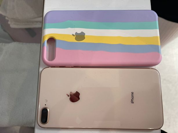 IPhone 8 Plus como novo capa brinde