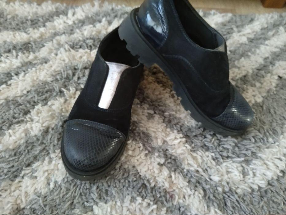 Туфли кожа р.35 Вышгород - изображение 1