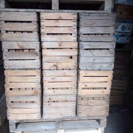 Skrzynki drewniane, klatki jedynki