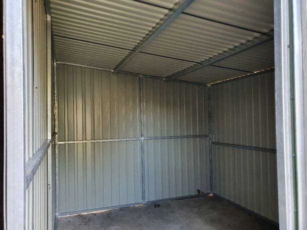 Schowek pomieszczenie gospodarcze na działkę garaż ROD profil ocynk