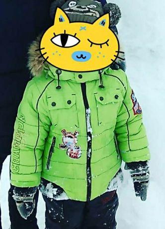 Зимний комплект: куртка и комбез