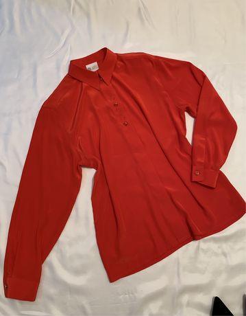 Вінтажна блуза рубашка