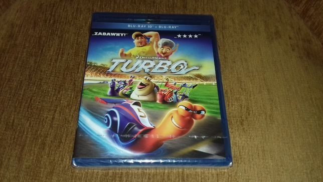 film nowy folia turbo blu-ray 3d plus blu-ray 2d po polsku